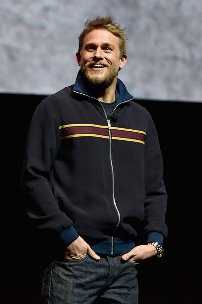 Actor Charlie Hunnam is seen onstage during CinemaCon 2017.