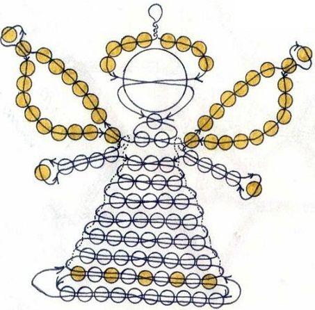Плетение подарков из бисера 44