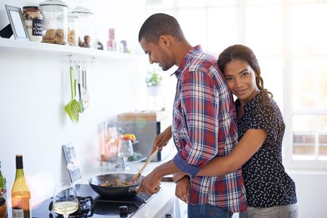 Cook up a storm - 20 Date Night Ideas for When It's Painfully Cold Outside - Photos