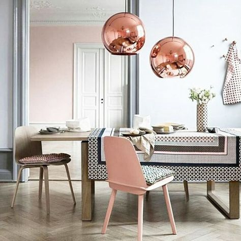 Material Mash - 15 Rooms That Make The Case For Decorating With Pink - Photos