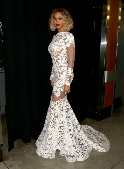 The Only Grammy Dresses You Need to Remember   Beyonce, 2014 Grammy Awards