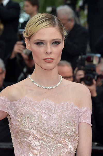 Coco Rocha attends 'The Meyerowitz Stories' premiere during the 70th annual Cannes Film Festival.