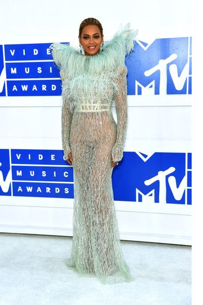 Beyonce attends the 2016 MTV Video Music Awards.
