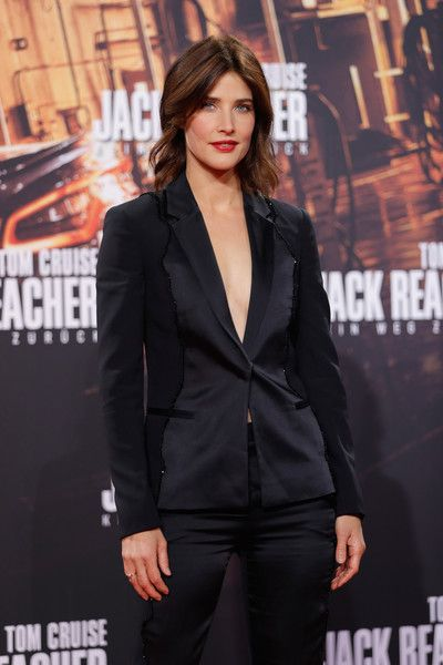 Actress Cobi Smulders attends the 'Jack Reacher: Never Go Back' Berlin Premiere.