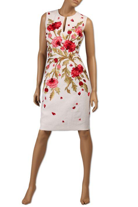 Модели платьев с вышивкой фото 2501