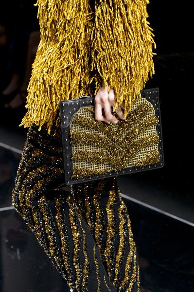 Balmain, Fall 2017 - These Runway Handbags From Paris Tell Us What Will Be Trending Next Fall - Photos