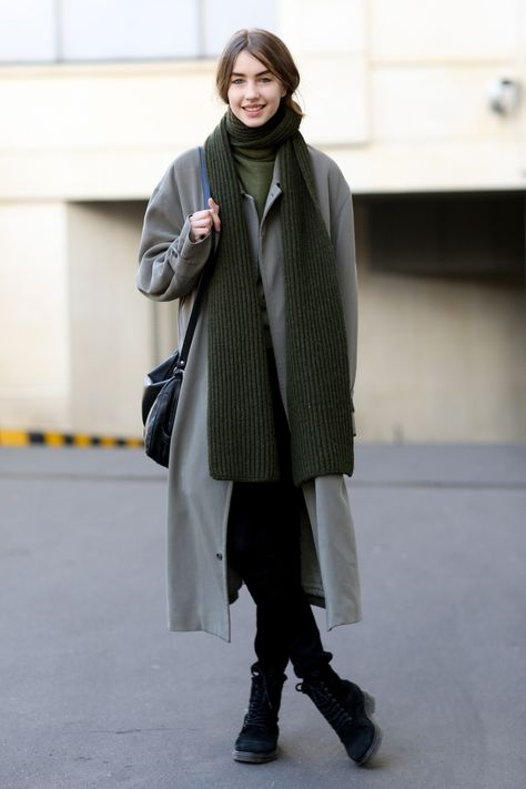 This Is How French Women Really Dress in the Winter | Oversized Coats