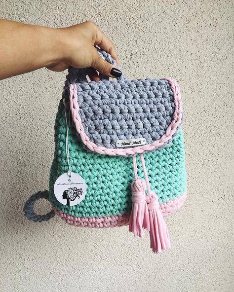 Crochet babybag