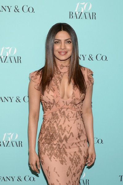 Priyanka Chopra attends Harper's BAZAAR 150th Anniversary Event presented with Tiffany & Co.