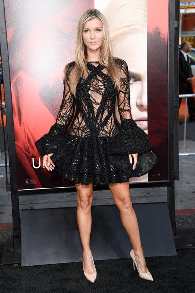 Joanna Krupa attends the premiere of the dramatic thriller 'Unforgettable' at the TCL Chinese Theater.