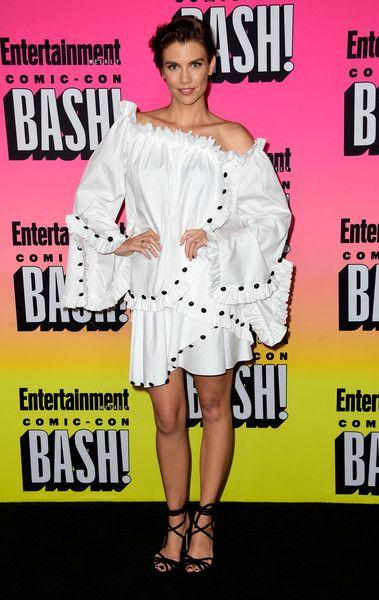 Lauren Cohan attends Entertainment Weekly's Comic-Con Bash.
