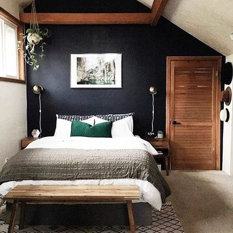 Rustic Elevated - Our Favorite Dark Living Spaces - Photos