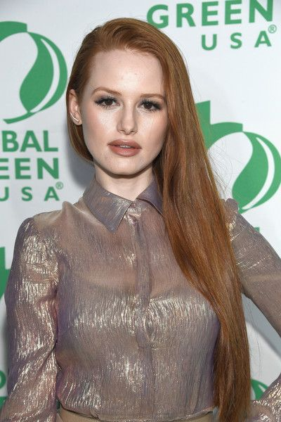 Actor Madelaine Petsch attends the 14th Annual Global Green Pre-Oscar Party.