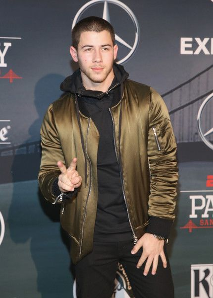 Recording artist Nick Jonas attends ESPN The Party on February 5, 2016 in San Francisco, California.