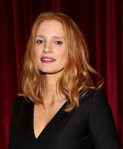 Actress Jessica Chastain attends as The Academy of Motion Picture Arts and Sciences Hosts an Official Academy Screening of 'Miss Sloane.'