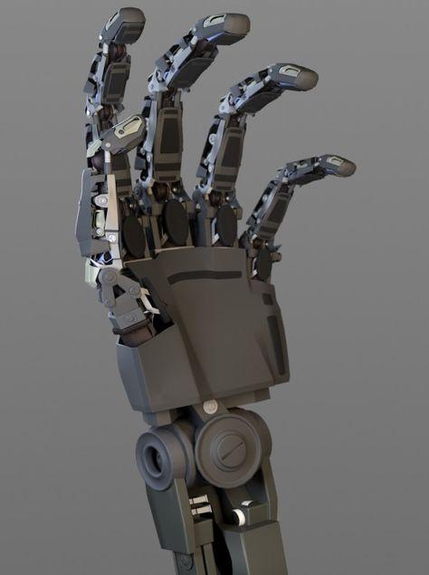 Mechanical hand design