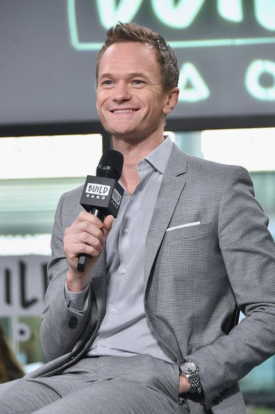 Actor Neil Patrick Harris attends the Build series to discuss the Netflix drama 'Lemony Snicket's a Series Of Unfortunate Events' at Build Studio on January 13, 2017 in New York City.