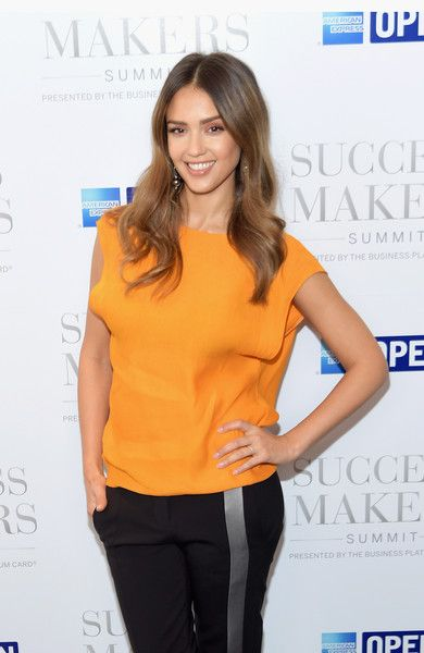 Actress Jessica Alba attends the 2017 Success Makers Summit at Spring Place on April 17, 2017 in New York City.