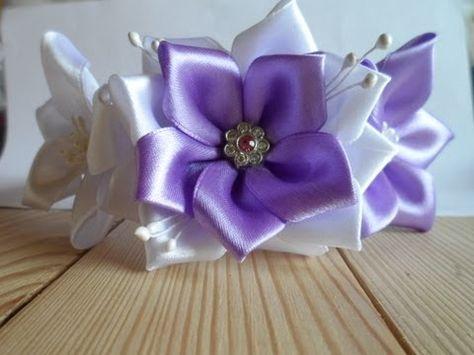 Tobb mint 1000 kep a kovetkezorol: Flower/Craft Tutorials a Pinteresten Youtube, Textilviragok es Kanzashi viragok