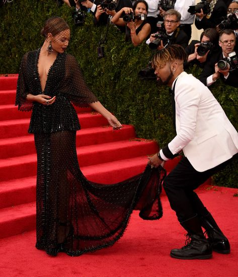Beyonce in Givenchy, 2014 - The Most Daring Met Gala Dresses - Photos