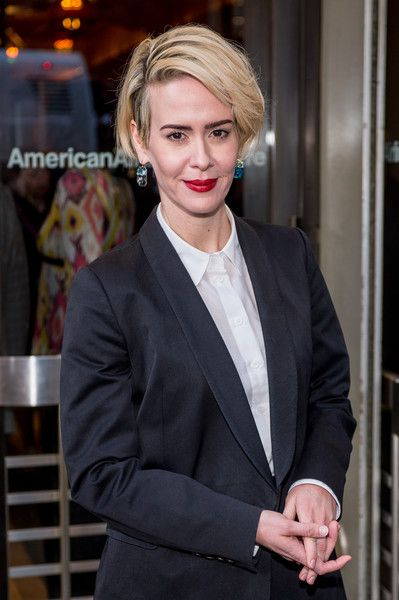Sarah Paulson attends the 'Long Day's Journey into Night' Broadway opening night.