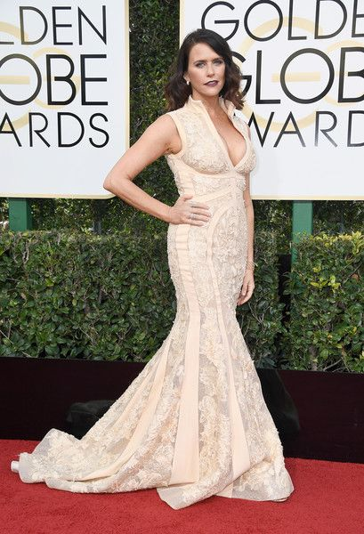 Amy Landecker - All the Stunning Looks from the 2017 Golden Globes - Photos