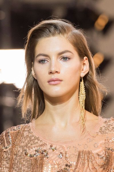 Roberto Cavalli, Fall 2016 - The Earring Trend That's Taken Over the Runway - Photos
