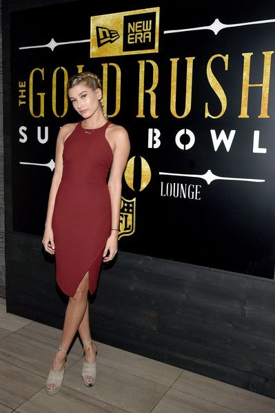 Model Hailey Baldwin attends the New Era Style Lounge at The Battery on February 5, 2016 in San Francisco, California.