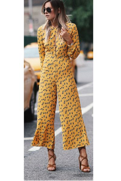 Add Interest With Gladiator Shoes - Easy Ways to Jazz Up Your Jumpsuits - Photos