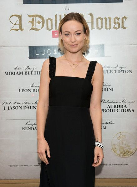 Actress Olivia Wilde attends the opening night on Broadway of Lucas Hnath's 'A Doll's House, Part 2.'