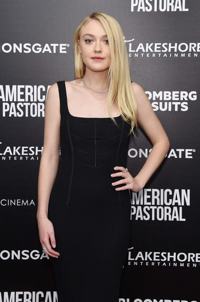 Actress Dakota Fanning attends a screening of 'American Pastoral.'
