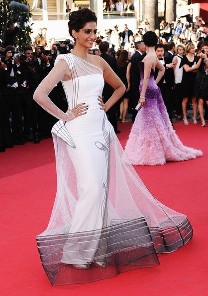 Sonam Kapoor in Jean Paul Gaultier, 2011 - The Most Daring Dresses on the Cannes Red Carpet - Photos