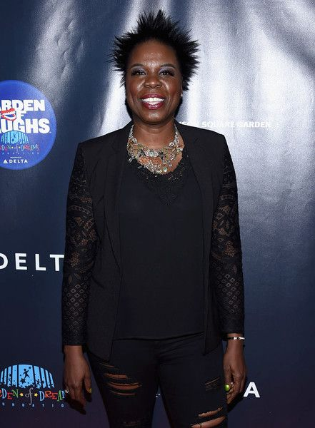 Leslie Jones attends the 2017 Garden of Laughs Comedy Benefit at The Theater at Madison Square Garden.
