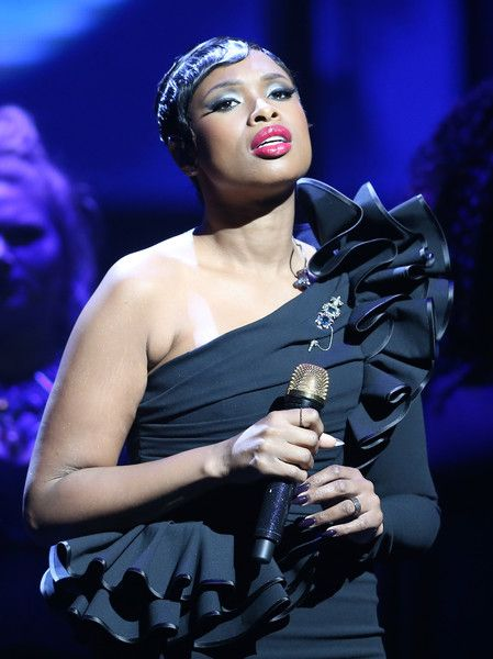 Singer/actress Jennifer Hudson performs onstage at the Center Theatre Group 50th Anniversary Celebration.