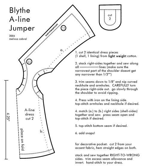 Как сшить платье для блайз