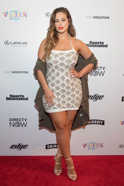 SI Swimsuit model Ashley Graham attends the VIBES by Sports Illustrated Swimsuit 2017 launch festival.