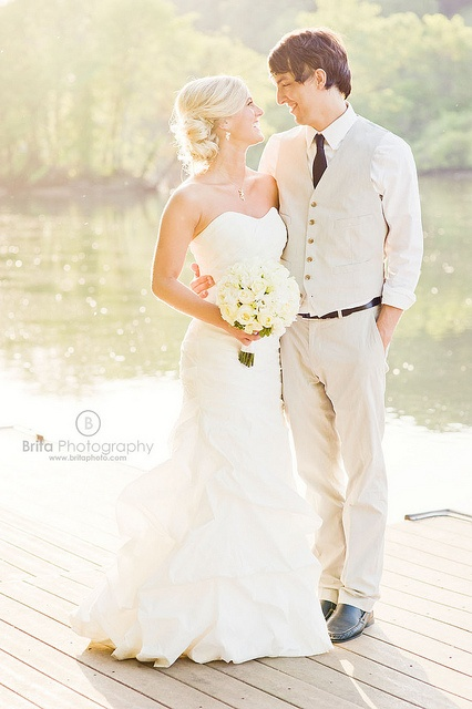 A sweet & Southern wedding, featuring the bride & groom - so in love!