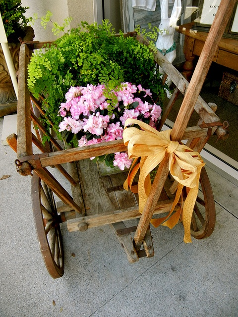 Wagon of Flowers