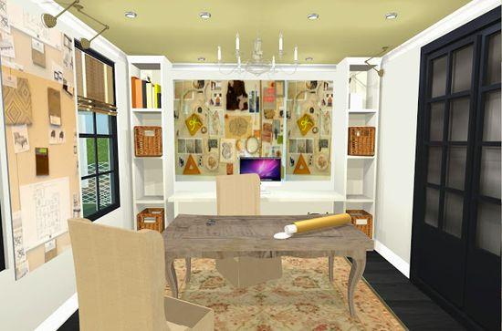 Home design studio/office sneak peek!
