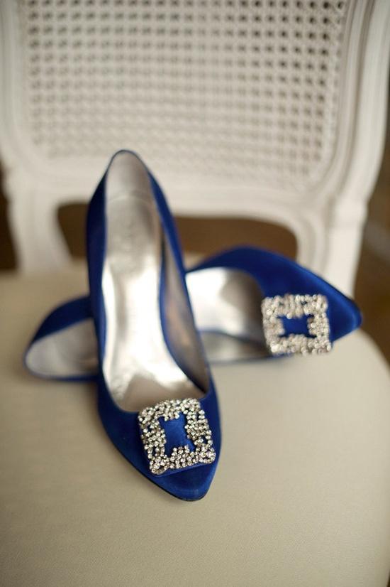 something blue...my wedding shoes:)