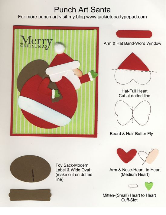 Stampin' Up punches
