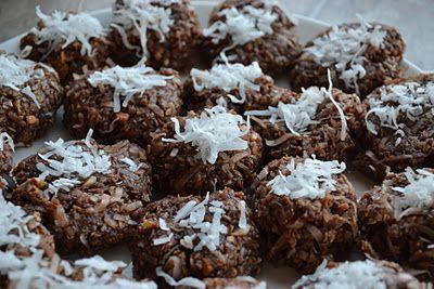 Almond Joy No-Bake Cookies Recipe! #coconut #cookie #recipes