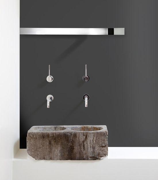 modern bathroom design with stainless steel basin taps# designer bathroom#badkamer ontwerpen#badkamer verbouwen#groothandel rvs kranen