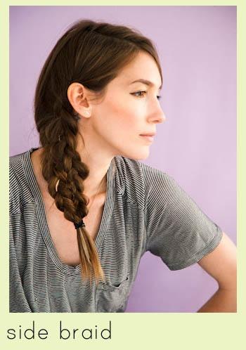 mermaid side braid // 10 of the Best Hair Tutorials