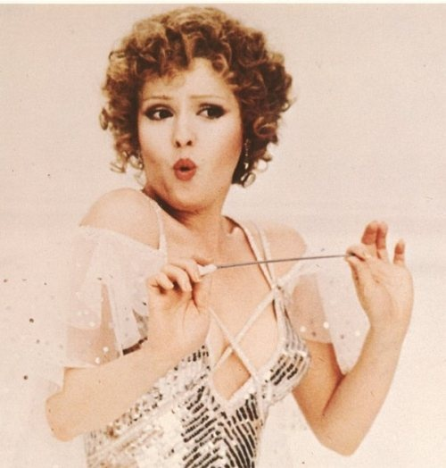 Bernadette Peters and this is why :)