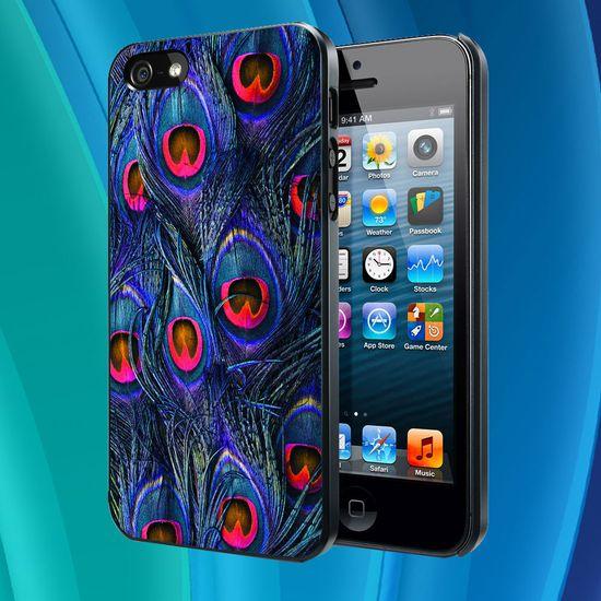 iphone 5 case - peacock iphone case