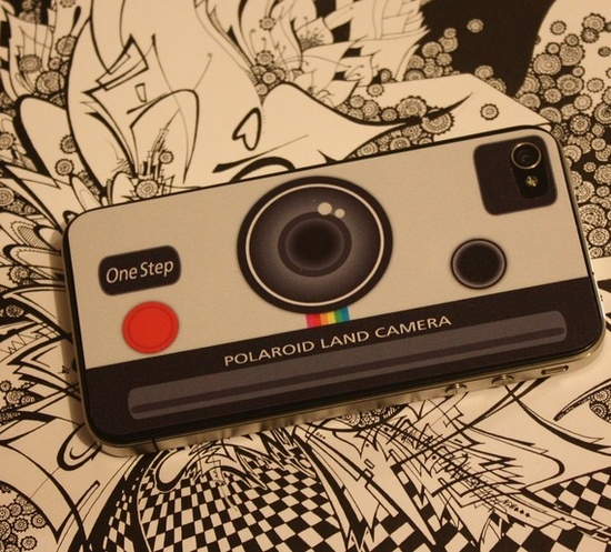 Polaroid land camera skin for iphone 4 (for T)