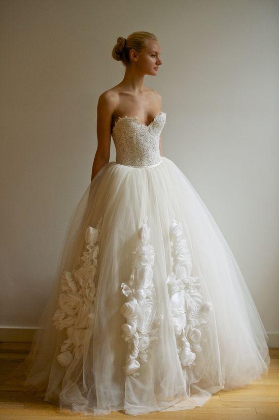 Francesca Miranda Spring 2013 - Vera #bridal #gown