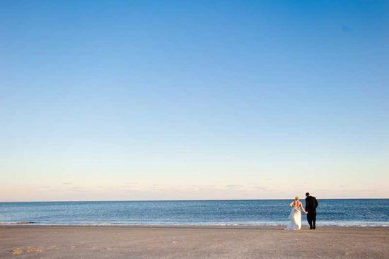 Gorgeous Oceanside Wedding Photo #hiltonheadwedding #weddings