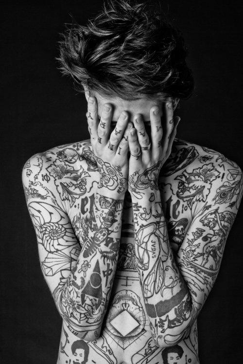 Tattooed guy. #tattoo #tattoos #ink #inked
